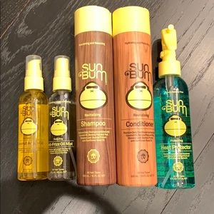 Sun Bum Shampoo Conditioner + 3 Products